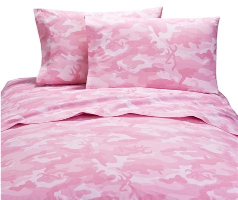 pink pattern sheet set buckmark pink camo sheet set rustic sheet sets from