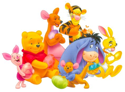 Galerry pooh bear and friends