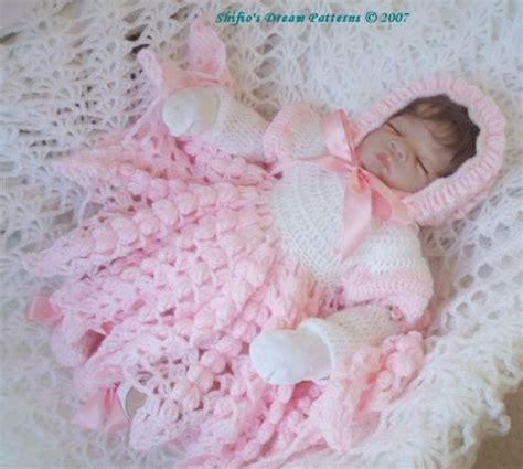 crochet pattern pink girl dress crochet pattern for baby girl dress hat shoes 53 not