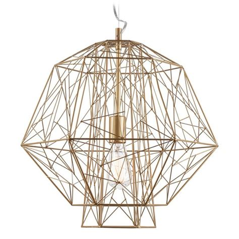 Nuevo Pendant Light Nuevo Lighting Zeus Gold Cage Pendant Light Hgvf404 Destination Lighting