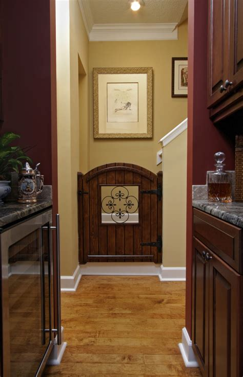 Half Door Ideas by Looking Gates Indoor In Kitchen Mediterranean