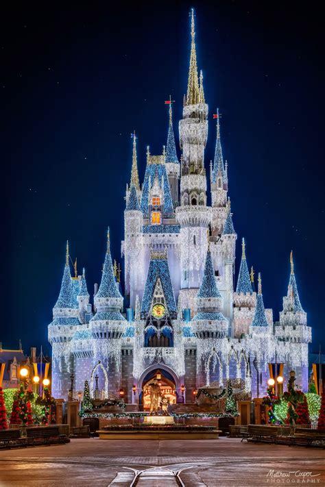 Cinderella Castle Telephoto Dreamlights Cinderella Disney World Castle Lights
