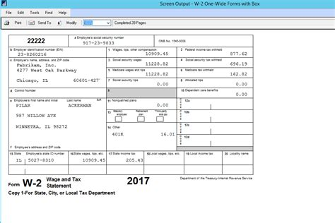 w2 form template microsoft dynamics gp year end update 2016 u s payroll