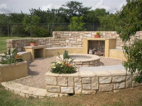 Patio Braai Designs Boma Nicely Built And Bit Protected From For Animals Tuin Idees