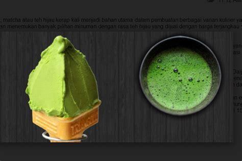 Teh Hijau Di Jepang es krim teh hijau hadir dengan harga fantastis