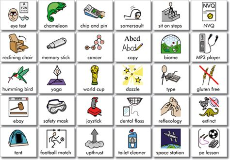communication board template 9 best images of free printable signs and symbols