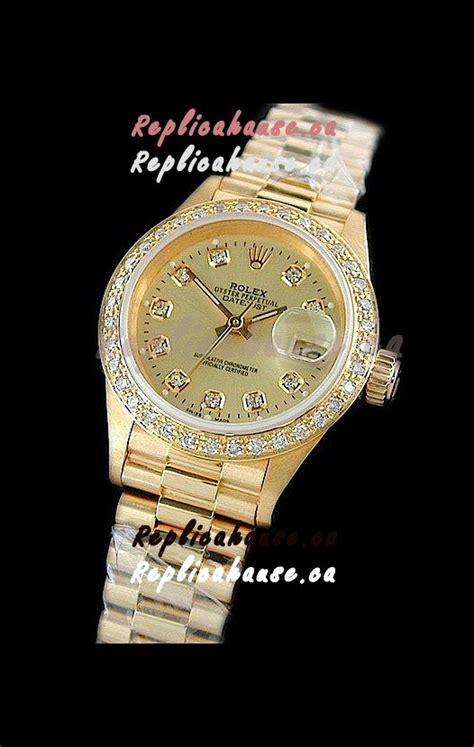rolex datejust swiss replica gold shipping