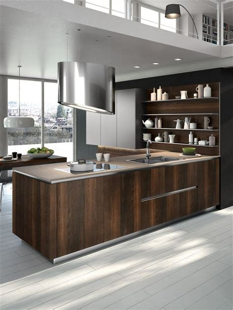 wooden kitchen design wooden fitted kitchen way by snaidero cucine wood