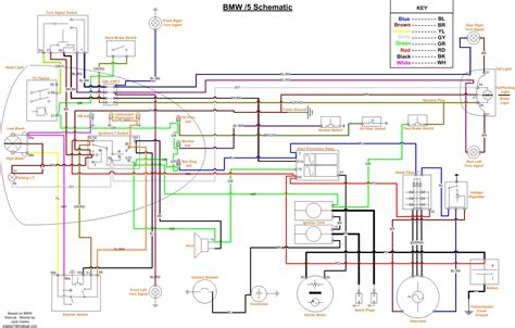 electrical wiring diagram bmw 5 series wiring diagram