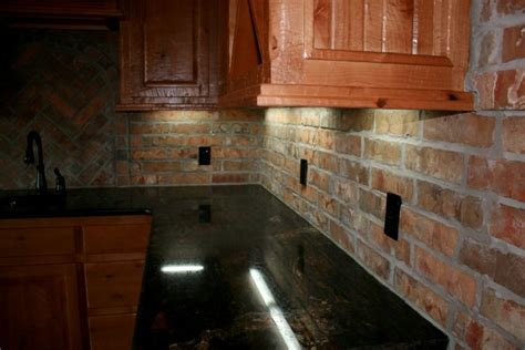 Brick Tile Kitchen Backsplash Brick Backsplash Advantages Of Thin Brick Kitchen Pinterest Bricks And Thin Brick