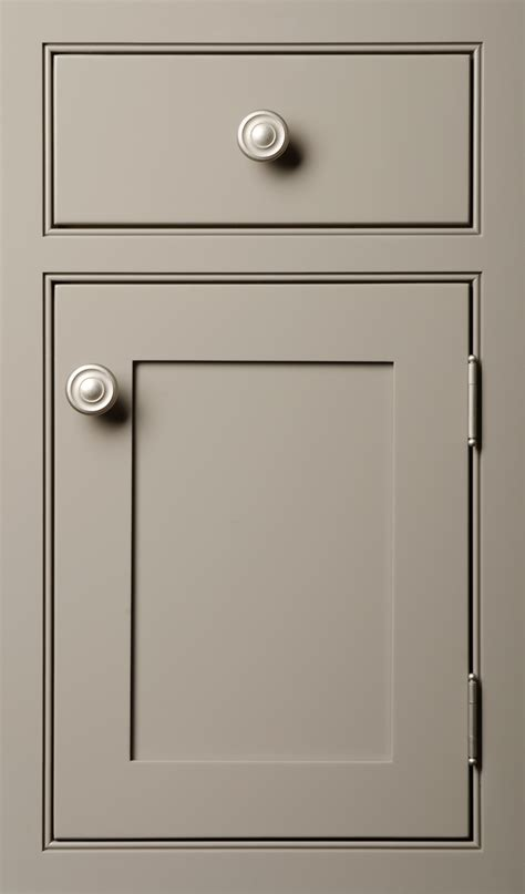 shaker style cabinet door shaker door done in maple vista gray the