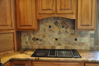 granite countertops  tile backsplash ideas eclectic
