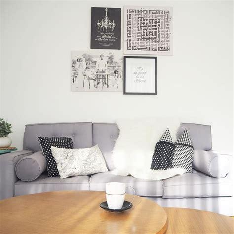 warna cat tembok ruang tamu putih desain interior ide