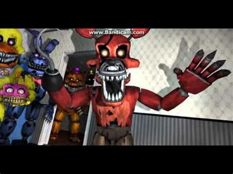 plustrep  nightmare feddy bonnie chica foxy  golden