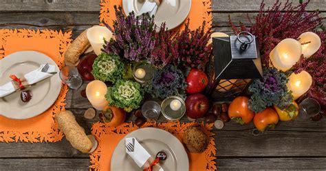 tavola autunnale idee di decorazione fai da te per la casa in autunno