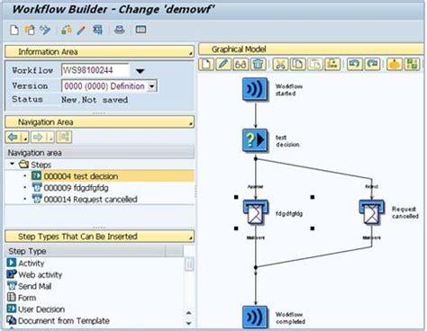 sap workflow status building a workflow in ehsm 3 0 sap blogs