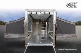 18 Foot Rv Awning Aluminum Trailer Company Rv Living Quarters Toy Hauler