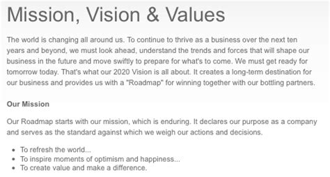 exle of mission statement mission statement exles alisen berde