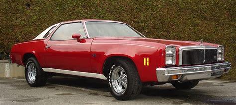 chevy malibu chevelle monte carlo classic cars