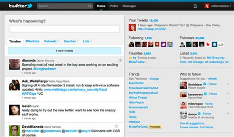 twitter layout evolution image gallery twitter 2010