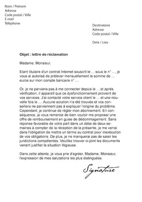 Resiliation Lettre Bouygues Telecom Lettre De R 233 Clamation Bouygues Telecom Demande De Remboursement Mod 232 Le De Lettre