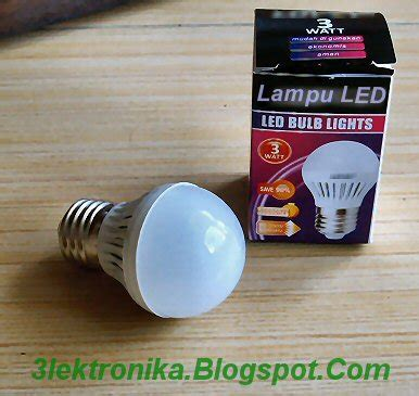 Lu Pijar Philips 2015 hobby radio elektronika modifikasi lu led agar bisa