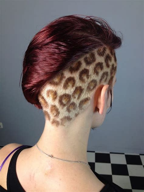stylish hair tattoos for girls