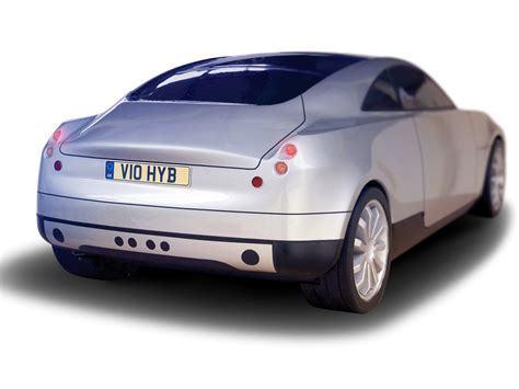 The Connaught Type D H The Worlds Hybrid Sports Coupe by Connaught Type D Rear Angle 1024x768 Wallpaper