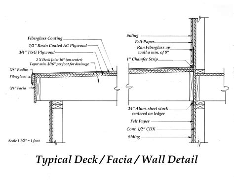 draw deck fiberglass deck architectural drawings eastern