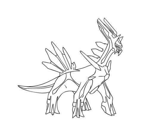 pokemon coloring pages dialga vitlt com