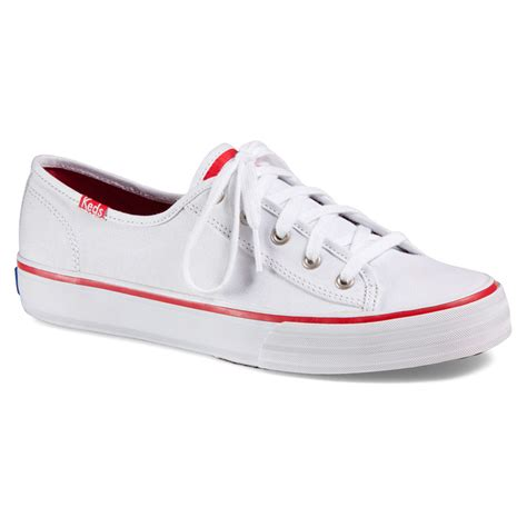 keds shoes lyst keds up in white