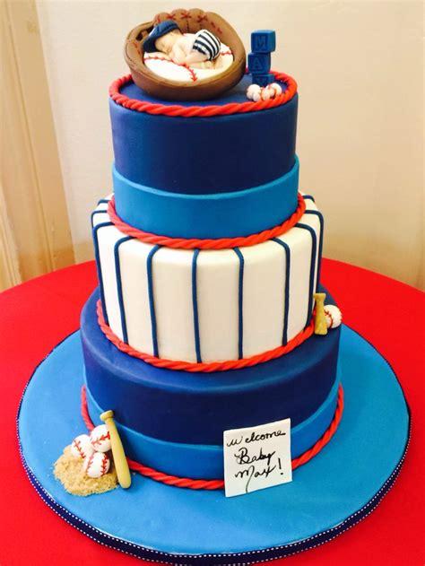 Baseball Baby Shower Cakes by Baseball Baby Shower Cake The Bridge To Creativity