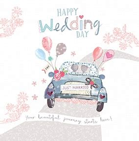 personalised wedding cards next day delivery happy wedding day card funky pigeon