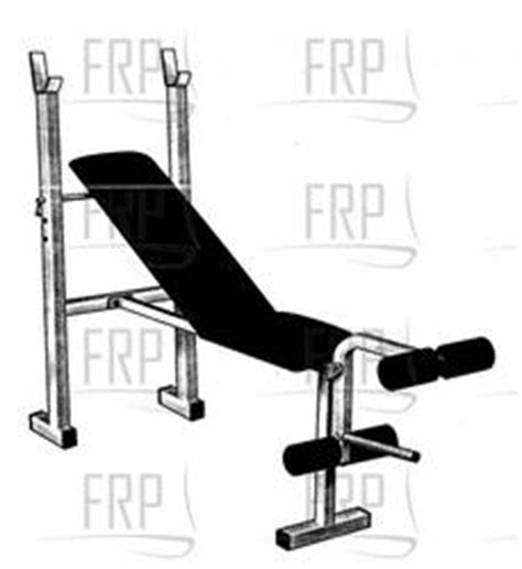 weight bench parts weider 128 webe12870 fitness and exercise equipment repair parts