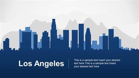 city powerpoint template los angeles powerpoint template slidemodel