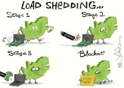 Load Shedding South Africa by South Africa And The Four Stages Of Eskom Loadshedding