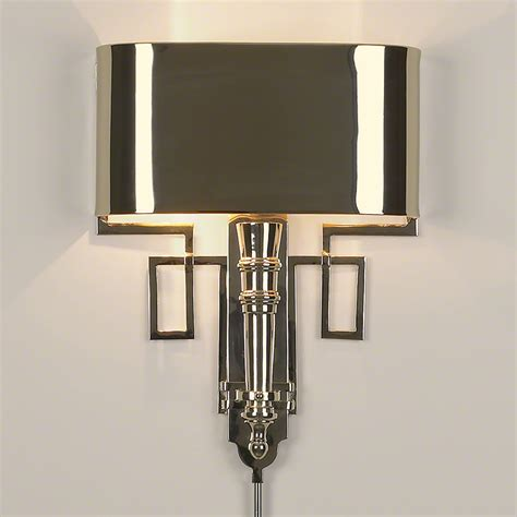 Nickel Sconce Global Views Products Torch Sconce W Shade Nickel
