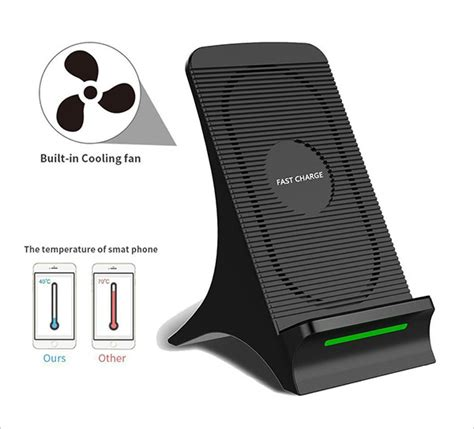 wireless charger fan 10 best iphone x 10 fast wireless charger stand you must