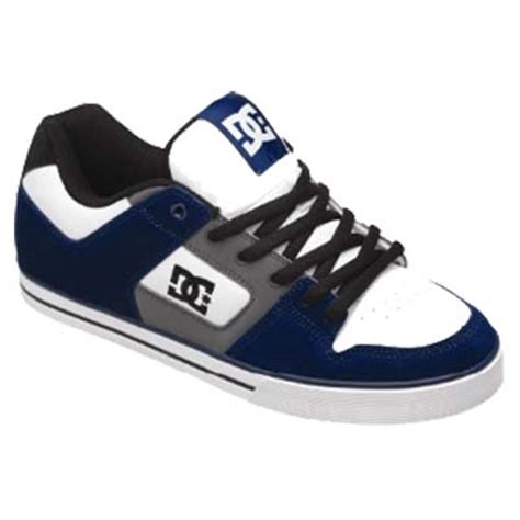 Dc Usa Shoes dc shoe co usa slim shoes in white e blue