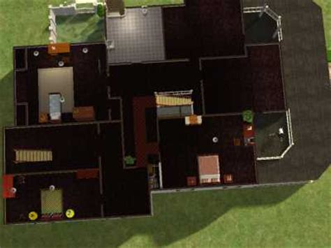 sabrina the witch house floor plan mod the sims the spellman manor from sabrina the