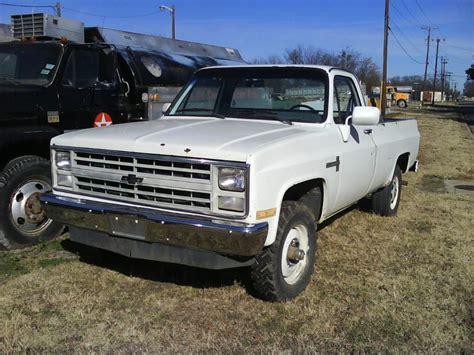 1985 chevrolet k20 4x4 pickup