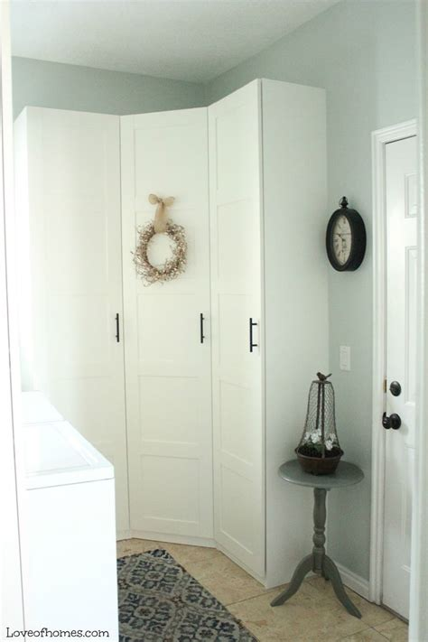 laundry room, mudroom, Ikea Pax system   Ideas for the