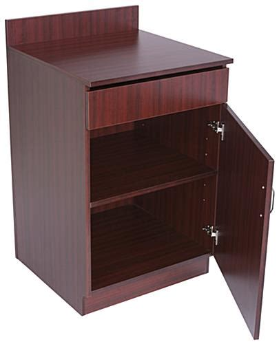 cabinet station waiter station pull out drawer and cabinet