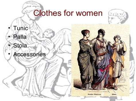 rome fashion styles clothing clothing in ancient rome