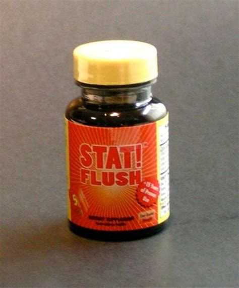 Stat Detox Pills by Stat Flush N A M A S K A R Bob S Health Wellness