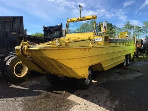 wwii duck boats for sale 1943 wwii hibious dukw by gmc hibious vehicle duck