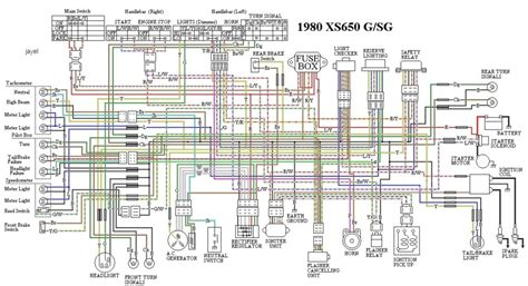 yamaha xs400 wiring diagrams forum electrical schematic