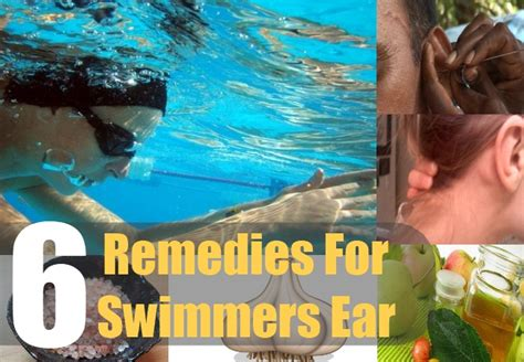 6 home remedies for swimmers ear home remedies for