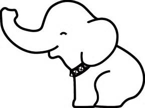 Clipart Outline by Free Baby Elephant Clip Pictures Clipartix