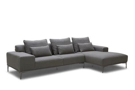 modern sofa chaise heath modern fabric sofa with chaise brisbane
